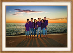 Orange County Family Beach Portraits by Orange County Headshots