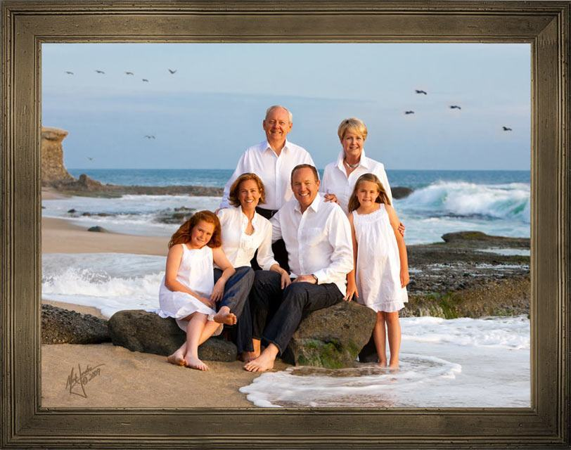 21 Family Beach Portrait